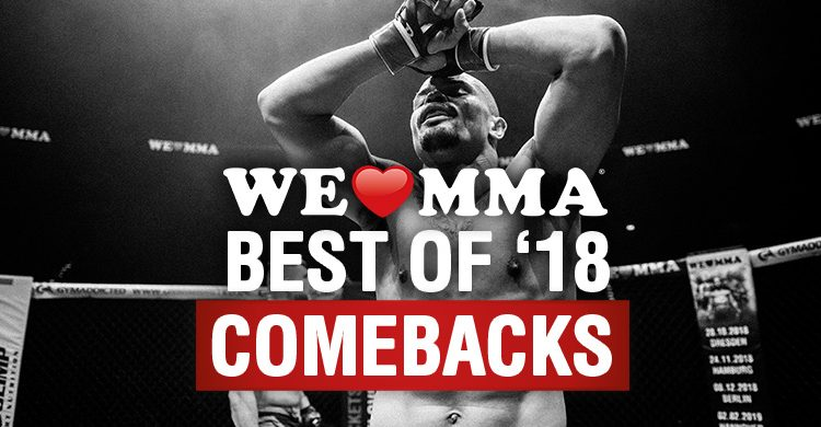 BEST OF '18 – GREATEST COMEBACK