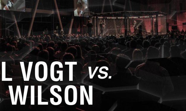 Daniel Vogt vs Chris Wilson