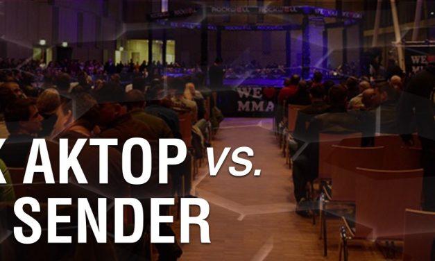 Safak Aktop vs Kevin Sender