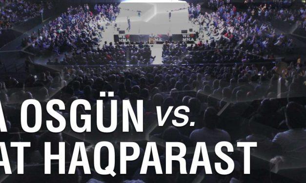 Tolga Osgün vs Nasrat Haqparast