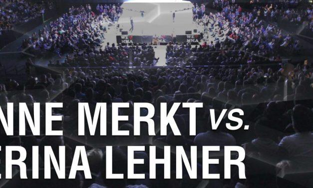 Dr. Anne Merkt vs Katherina Lehner