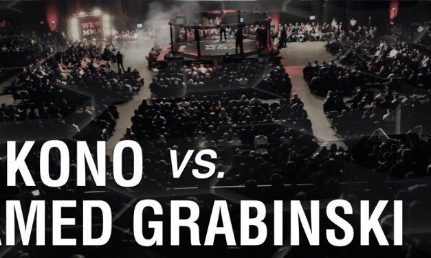 Gary Kono vs Mohamed Grabinski