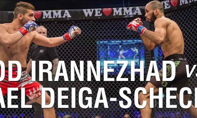 Farbod Irannezhad vs Michael Deiga-Scheck
