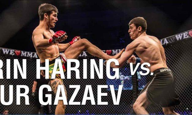 Severin Haring vs Mansur Gazaev
