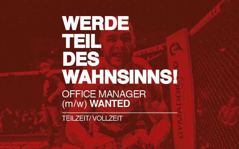 JOBS: OFFICE MANAGER (m/w)