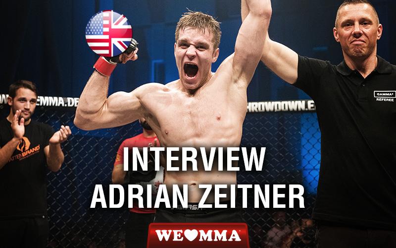MMA: Mainzer Adrian Zeitner holt Titel im Weltergewicht