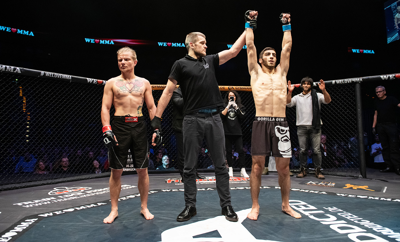 We Love MMA 51 Berlin: Marcel Quietzsch vs Adrian Zeitner