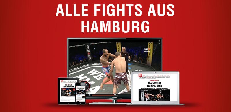 ALLE FIGHTS AUS HAMBURG 19.10.2019