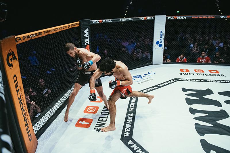 Ali Shams vs Andre Goworuchin