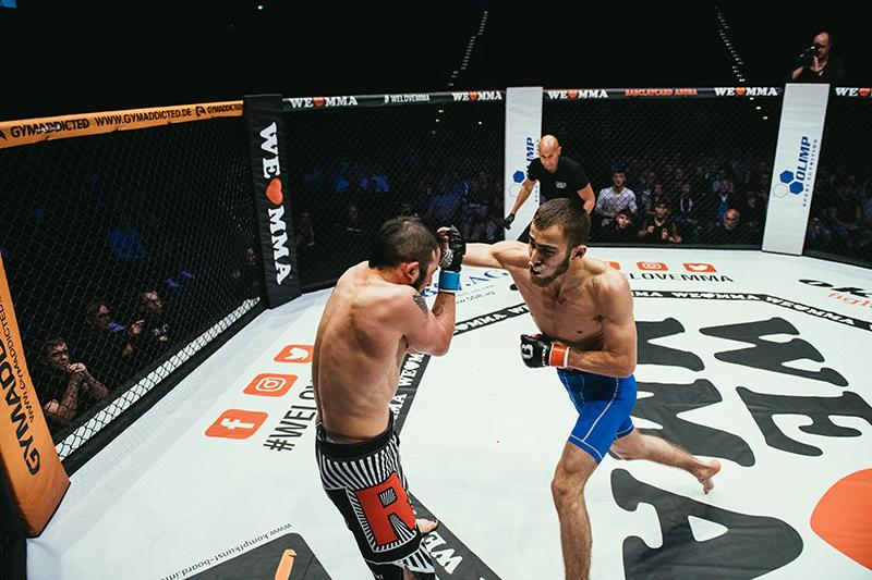 Adam Matsuev vs Dimitrij Issak